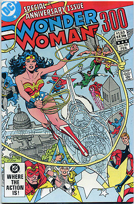 Wonder Woman #300 (Dc 1983) Vf+ First Print Bagged