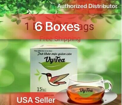 6 boxes Vy&tea natural herbal tea help weight loss,sleep deep,purifying the body