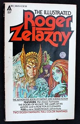 The Illustrated Roger Zelazny  VG-1979 Bronze Age US Ace paperback Gray Morrow