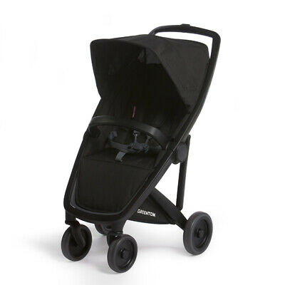 Classic Greentom UPP Lightweight Stroller, Adapters & Rain Cover Black