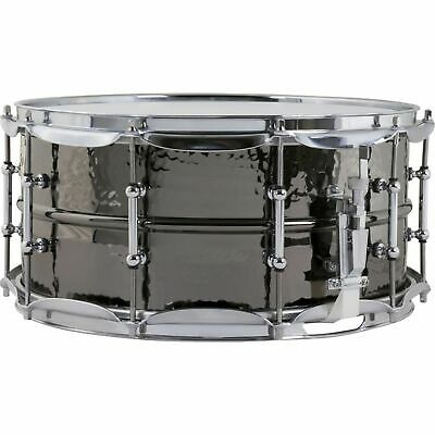 """Ludwig - Black Beauty Snare LB417KT, 14""""x6,5"""", Hammered, Tube Lugs"""