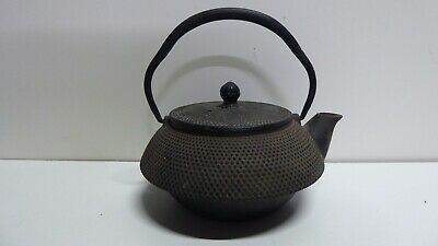 Old Chinese Cast Iron Teapot