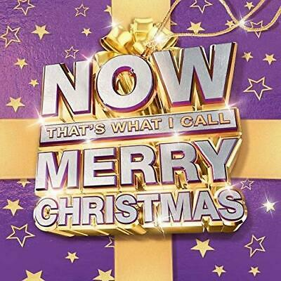 NOW That's What I Call Merry Christmas [2018] Audio CD NEW