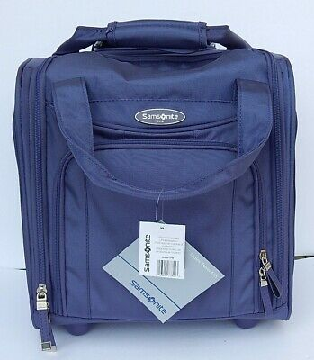 Samsonite Rolling Small Wheeled Underseater Carry-On Luggage Bag New Authentic