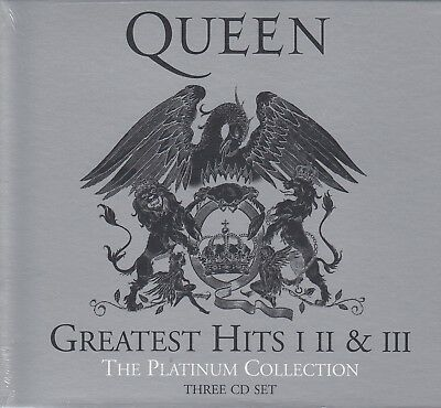 Queen / Greatest Hits I, II & III - Best of - Platinum Collection (3 CDs,NEU)