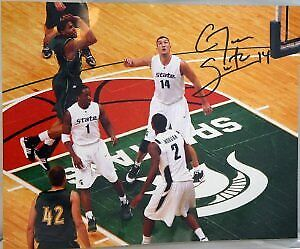 "Goran Suton Michigan State Spartans MSU Auto  Signed Autographed 8""X10"" Photo"