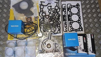 DISCOVERY RANGE ROVER SPORT 2.7 ENGINE REBUILD KIT+0.5mm RINGS+OIL PUMP>2009