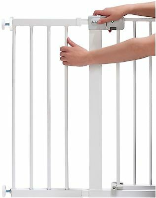 Safety 1St GATE EXTENSION WHITE 28CM Safety Stair Gate BN