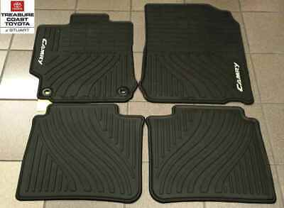 New Oem 2012-2014 Toyota Camry All Weather Floor Mats
