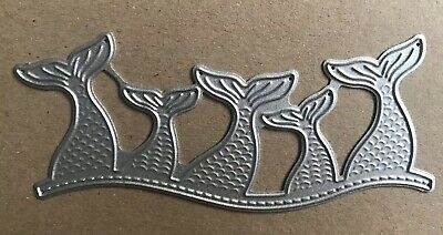 Beautiful Detailed MERMAID BORDER EDGE Fairytale X21 Metal Cutting Die
