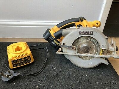 Dewalt DC390 18V XRP Cordless 6-1/2 in Circular Saw + Battery + Charger + Blade