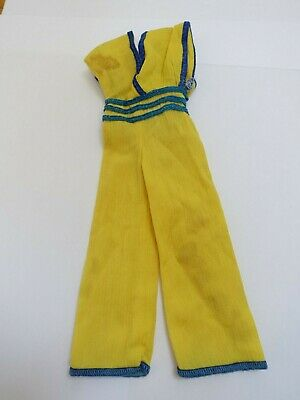 "♥ BARBIE KLEIDUNG ♥ gelber Overall ""Best Buy Fashion"" ♥ 1979 #2782 Mode"