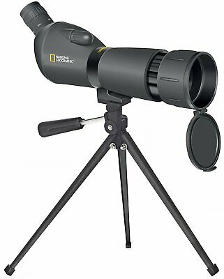 New National Geographic 20-60x60 Zoom Spotting Scope incl. Case & Mini Tripod