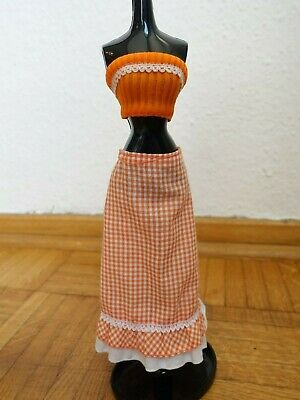 "♥ BARBIE KLEIDUNG ♥ oranges Outfit ""Best Buy Fashion"" ♥ 1976 #9153 Mode"