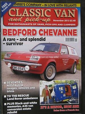 Classic Van & Pick-Up November 2013 Bedford Chevanne Minor Land Rover Robin