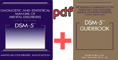 New/DSM-5 Diagnostic and Statistical Manual of Mental Disorders 5th Edition PDF