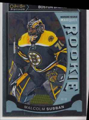 2015-16 O-Pee-Chee Platinum Marquee Rookie Malcolm Subban Rookie #M5