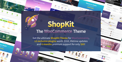 ShopKit v1.5.6 - The WooCommerce Theme AND UPDATE FOREVER