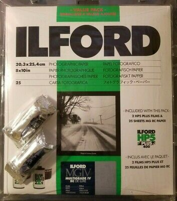 Ilford Multigrade IV RC DeLuxe Paper and HP5 Plus Film Value Pack (PEARL)