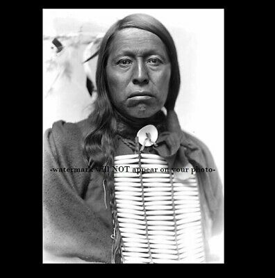 1898 Chief Flying Hawk PHOTO Battle Little Big Horn, Custer's Last Stand Indian