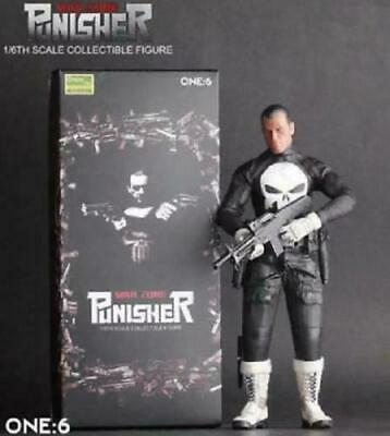 Marvel Punisher Action Figure Crazy Toys Doll Model Collectible 1/6 12'' Statue