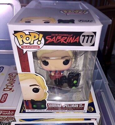 Funko Pop! TV Chilling Adventures Sabrina Spellman & Salem #777 Ready to ship