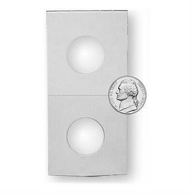 200 NEW Nickel Coin Holders Cardboard Protectors Flips, Archival, BCW Brand