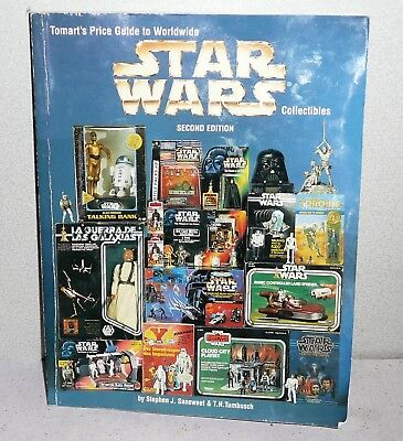 TOMARTS Price Guide To Worldwide STAR WARS Collectibles 2nd Edition VG Shape
