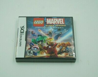 Brand-New Lego Marvel Super Heroes : Universe In Peril (Nintendo DS, 2009)