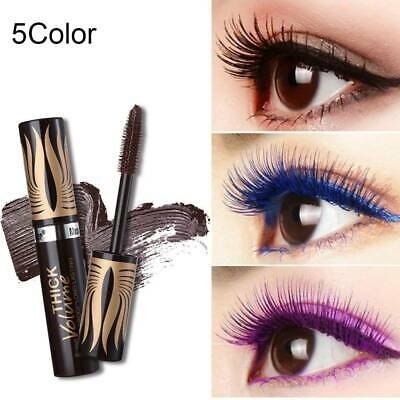 4D Silk Fiber Lash Mascara Waterproof Curling Eyelash Extension Cosmetics