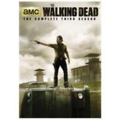 The Walking Dead: The Complete Third Season 3rd 5-Disc Set DVD VIDEO MOVIE TV