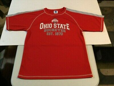 6e1c56cadfb OHIO STATE BUCKEYES Shirt (XXL - 18) Barely Worn - 100% Breathable Polyester