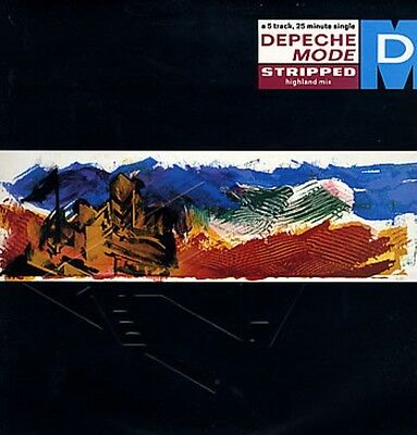 Depeche Mode Stripped (Highland Mix) 5 Track 12""