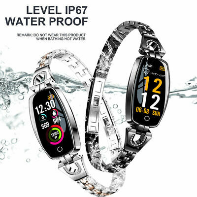 Women's Smart Watch Calories Fitness Tracker Blood Pressure Monitor Wristband