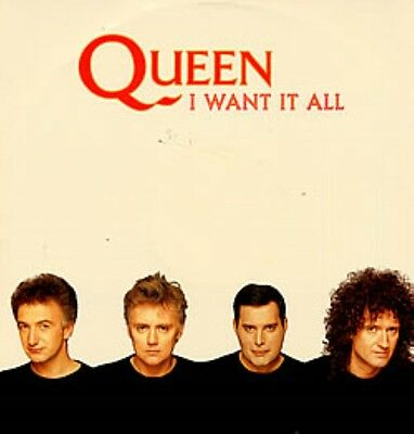 """Queen I Want It All (lp & single versions) ,  Hang On In There German 12"""""""