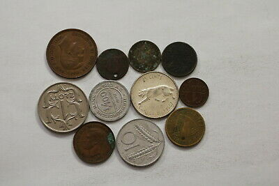 Many Old World Coins Useful Lot B10 Syg44
