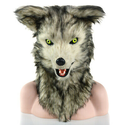 Moving Mouth Wolf Mask