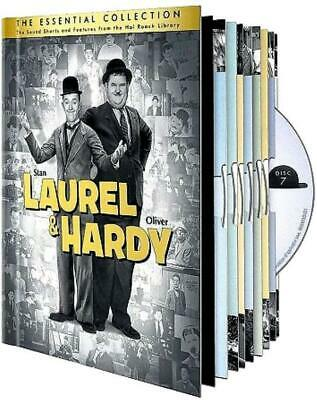Laurel & Hardy: The Essential Collection (DVD, 2011, 10-Disc Set) New