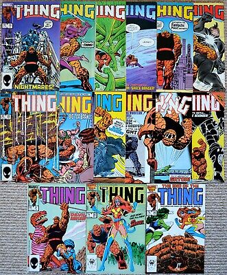 The Thing 19 20 21 22 23 24 15 16 17 18 19 30 31 35 36 final ish Fantastic Four
