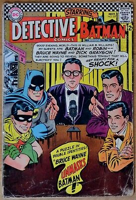 Detective Comics 357 Batman Robin Elongated Man