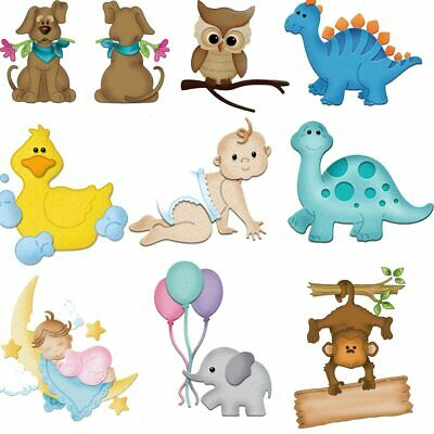 Animal Owl Duck Baby Series Metal Cutting Dies Stencils for DIY Scrapbooking