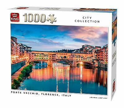 1000 Piece City Collection Jigsaw Puzzle Ponte Vecchio Florence Italy 55849