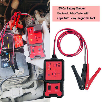 12V Electronic Automotive Relay Tester For Cars Auto Battery Checker P7C0