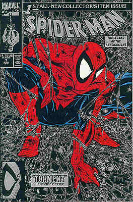 Spiderman # 1 (Todd McFarlane, silver edition) (USA, 1990)