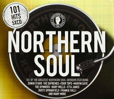 101 Northern Soul Anthems 5 CD Set - Edwin Starr The Supremes Four Tops