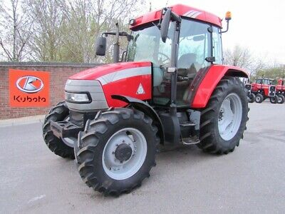 MCCORMICK CX105 4WD TRACTOR 40kph SEE THE VIDEO LOW HOURS AIR CON