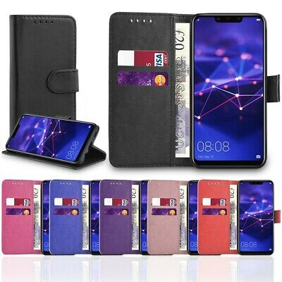Smart Case For Huawei P20 Pro Lite Mate P Smart P30 Leather Wallet Flip Stand