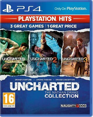Uncharted: The Nathan Drake Collection Playstation Hits (PS4)  NEW AND SEALED
