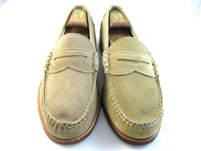 0059177af63 ALLEN EDMONDS SEA Island Slip-on Loafer  69130 Tan Made in USA New ...