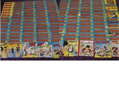 Beano Comic Library X 130 Job Lot + Dandy Comic Library X 6 Job Lot